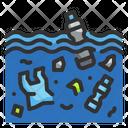 Ocean Degradation Icon