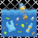 Ocean Degradation Sea Wave Icon