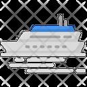 Ocean Liner Voyage Transportation Icon