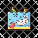 Ocean Pollution Icon