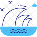 Ocean waves Icon