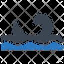 Ocean Waves Sea Icon