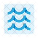 Waves Water Weather Icon