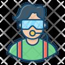 Oceanographer Diver Adventurer Icon