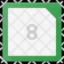 Octacore Microchip Icon