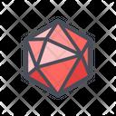 Octagonal Diamond Bubble Icon