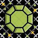 Octagonal Diamond Stone Icon