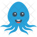 Octopus Animal Seafood Icon