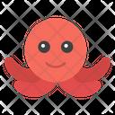 Octopus Sea Creature Animal Icon