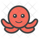 Octopus Sea Creature Animal Icon