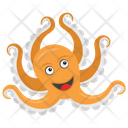 Octopus Sea Animal Mollusc Icon