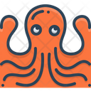 Octopus Pulpo Squid Icon