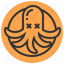 Octopus Squid Dinner Icon