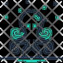 Octopus Devilfish Octopod Icon