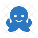 Pouple Octopus Seafood Icon