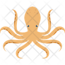 Octopus River Seafood Icon