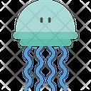 Octopus River Sea Icon