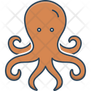 Octopus Devilfish Octopod Icon