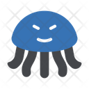 Octopus Seafood Water Icon