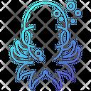 Octopus Animal Ocean Icon