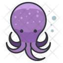 Octopus Animal Icon