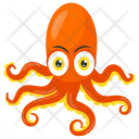 Octopus Legs Crab Icon