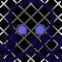Octopus Kiss Icon