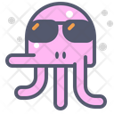 Octopus Sunglasses Octopus Sunglasses Icon