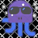 Octopus Sunglasses Icon