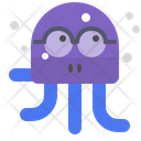 Octopus wear glasses Icon