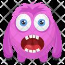 Oddball Colorful Ugly Icon
