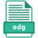 Odg File Formats Icon