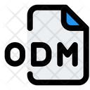 Odm File Audio File Audio Format Icon