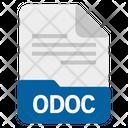 Odoc File Format Icon
