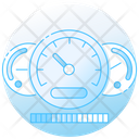 Speedometer Dashboard Gauge Icon