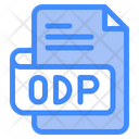 Odp Document File Icon