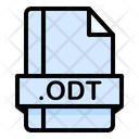 Odt File File Extension Icon