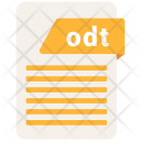 Odt File Formats Icon