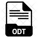 Odt file Icon