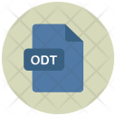Odt File Extension Icon