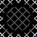 Off Zero Circle Icon