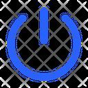 Off Shutdown Interface Icon