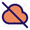 Off Cloud Icon