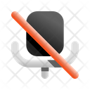 Microphone Disable Microphone Mic Icon