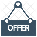Notice Offer Shop Icon