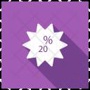 Offer Sticker Discount Icon