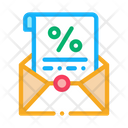 Printed Interest Letter Icon