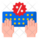 Offer On Keyboard Icon