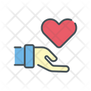 Offering Love Doantion Love Love Donation Icon