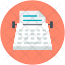 Office Material Stenographer Icon